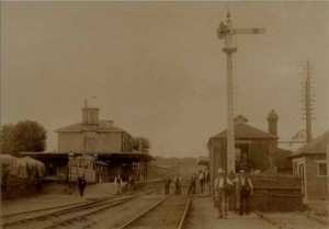 Station around 1900